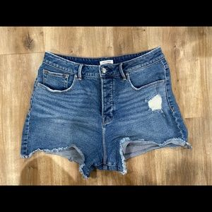 Good American High Waisted Shorts
